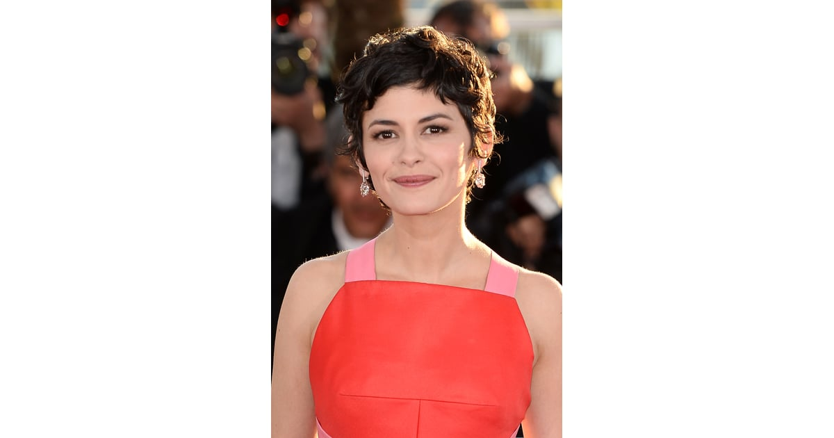 Queen Of The Gamine Style Audrey Tautou S Choppy Pixie