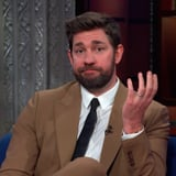 Watch John Krasinski Re-Create Jim Halpert's To-Camera Look