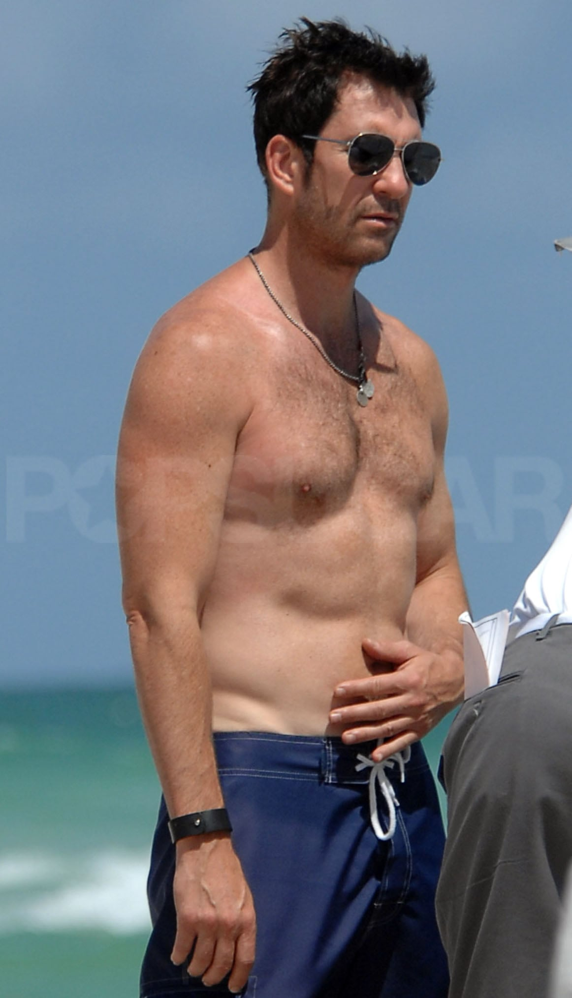 O Brien Auto >> Pictures of Dylan McDermott Shirtless on South Beach in ...