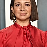 Maya Rudolph at the Vanity Fair Oscars Afterparty 2020