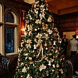 Gold and White Tree Decorations