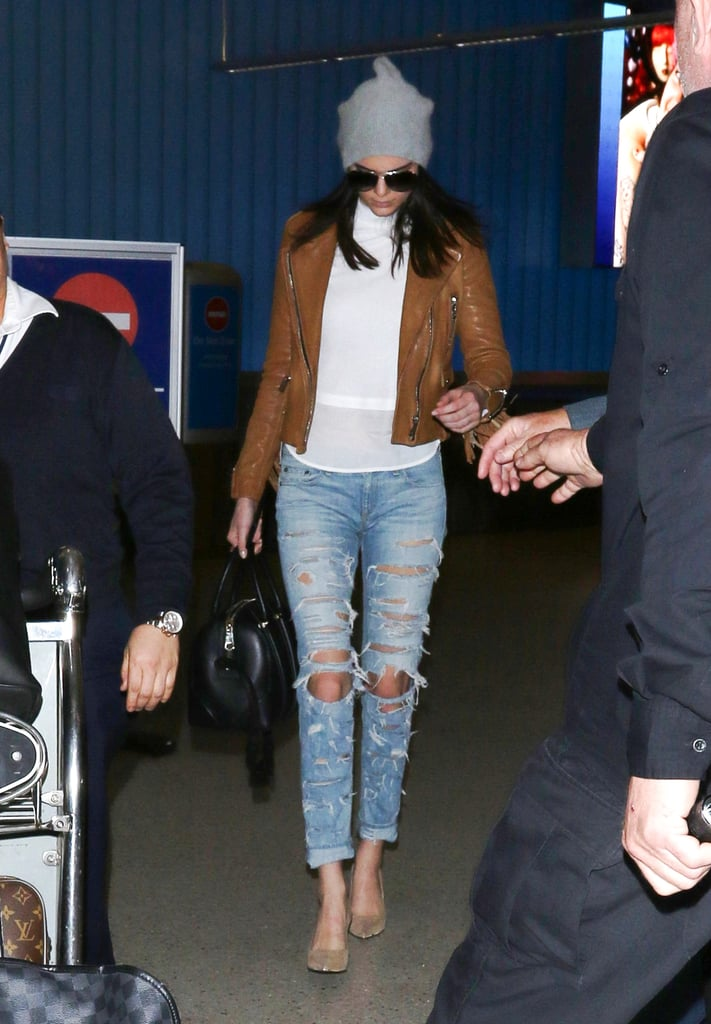 Kendall Jenner Will Change Your Mind About Distressed Denim