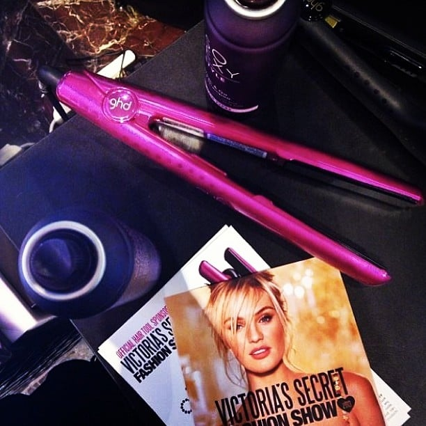 The GHD Pink Diamond Styler got a makeover for Victoria's Secret! Source: Instagram user ghdspain