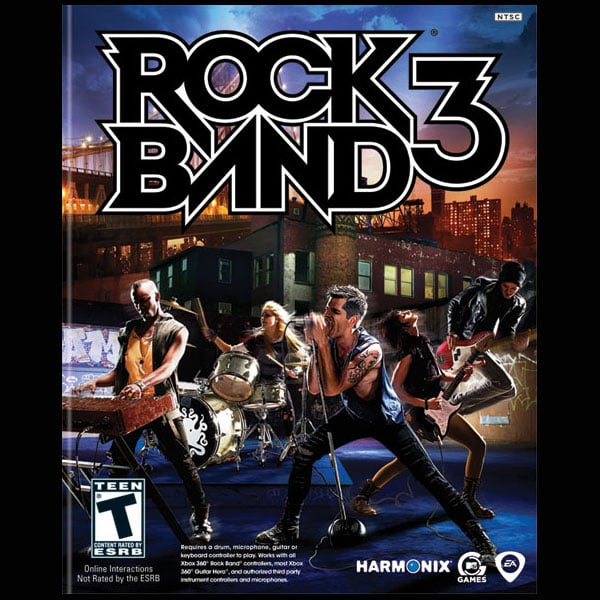Best Social/Casual Game: Rock Band 3