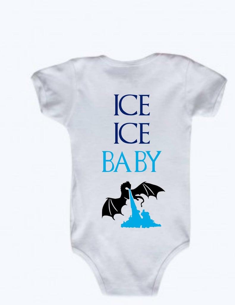 Ice, Ice, Baby Dragon Onesie