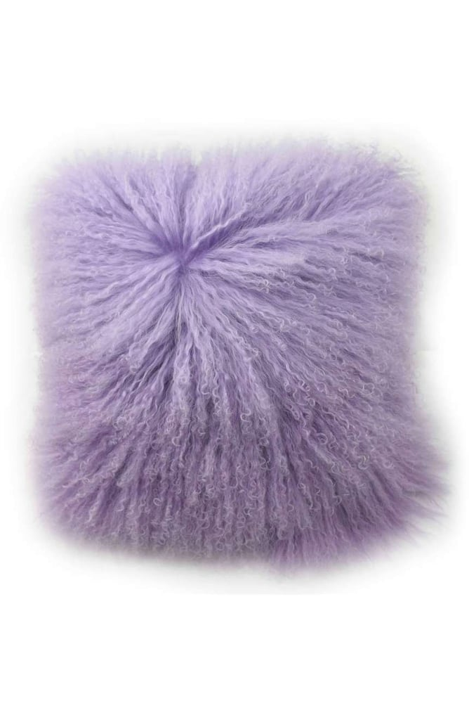 Blissliving Home Tanzania Halima Genuine Shearling Pillow