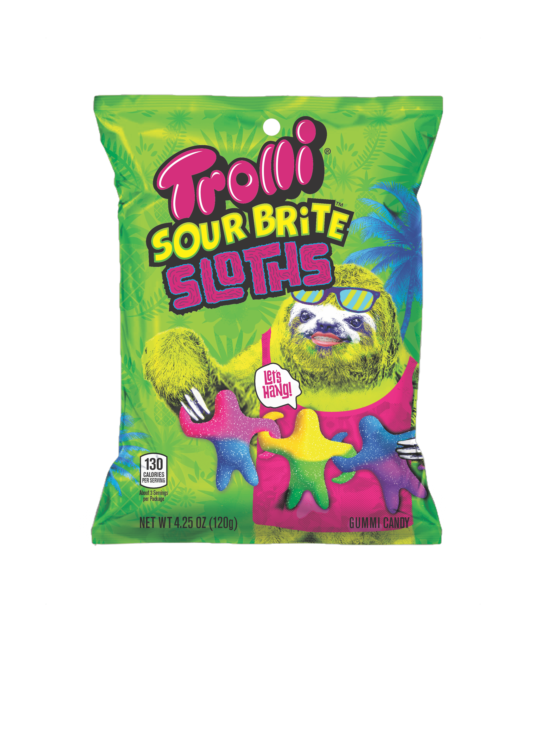 67d3673fcac Trolli Slurpee and Sour Sloth Candies