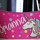 Personalized Unicorn Bucket