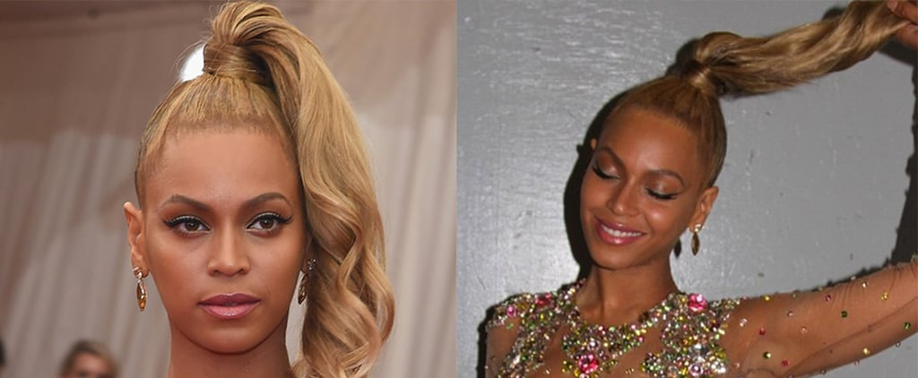 Beyonce's Hair Colour at the Met Gala