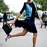 Here's the reason why Giovanna Battaglia is jumping for joy.