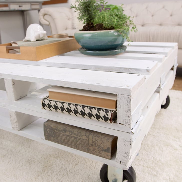 diy pallet coffee table | popsugar home