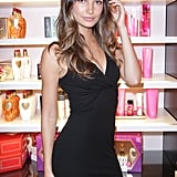 Lily Aldridge on Fashion's Night Out.