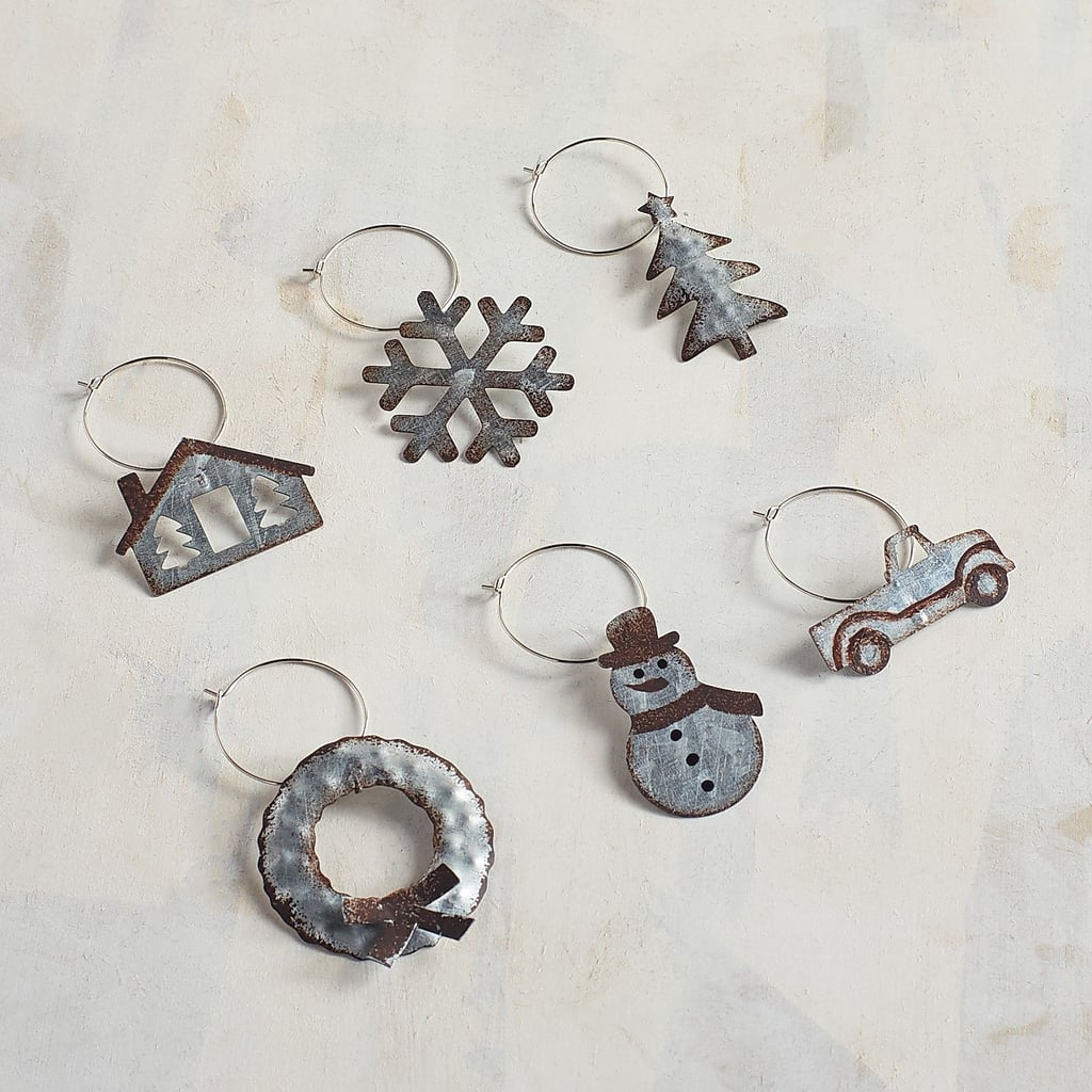 Wintry Wine Charms
