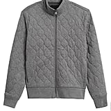 Cozy Quilted Track Jacket