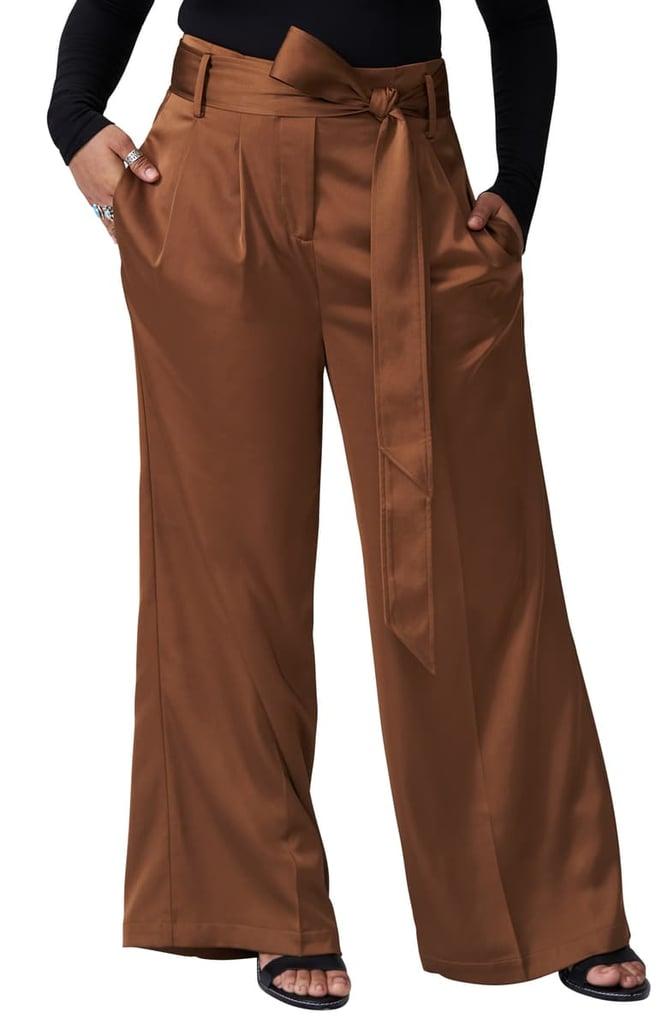 Universal Standard Tresa Wide Leg-Pants (Regular & Plus Size)