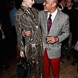 Daphne Guinness and Christian Louboutin