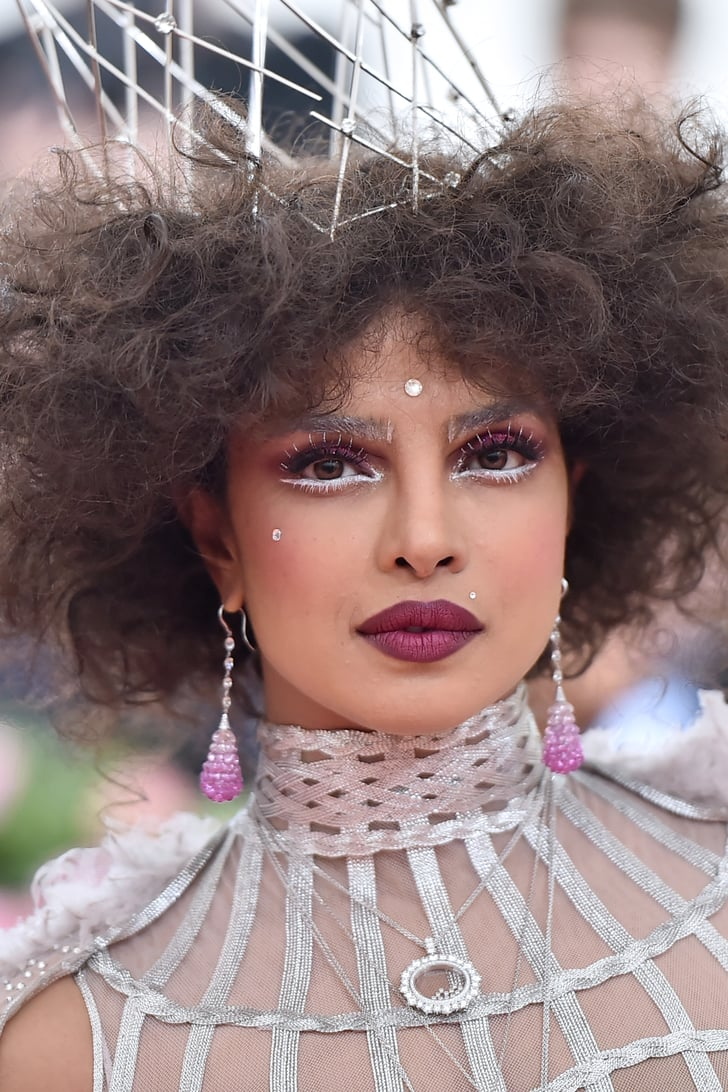 Priyanka Chopra Hair and Makeup at Met Gala 9  POPSUGAR Beauty