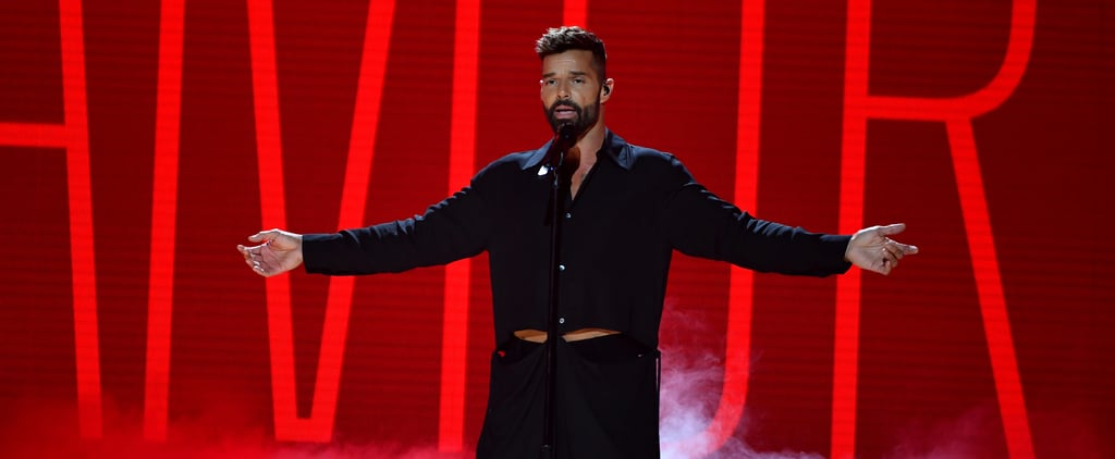 Ricky Martin Joins Efforts to Fight the Coronavirus