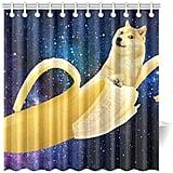 Banana Dog Shower Curtain