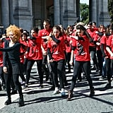 Participate in a Flash Mob
