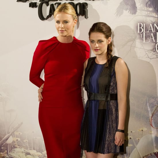 Snow White and the Huntsman Madrid Pictures of Kristen Stewart and Charlize Theron