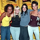 The Spice Girls performed at a benefit concert in Italy in June 1998.