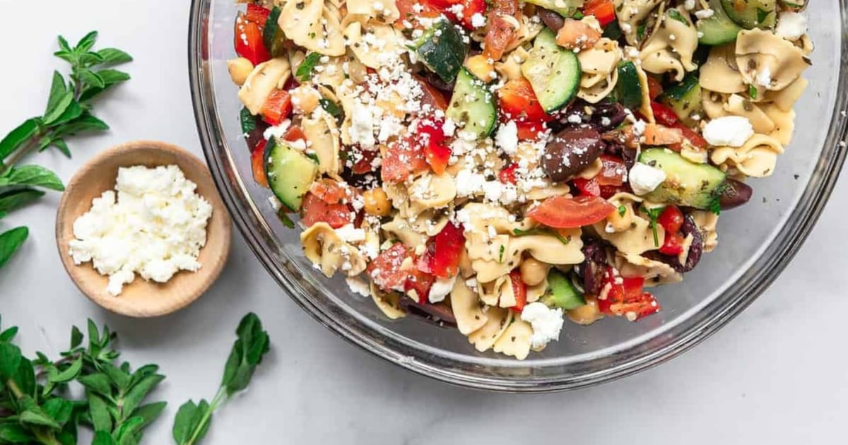 Make the Most of Summer's Seasonal Flavors With These Pasta Salad Recipes