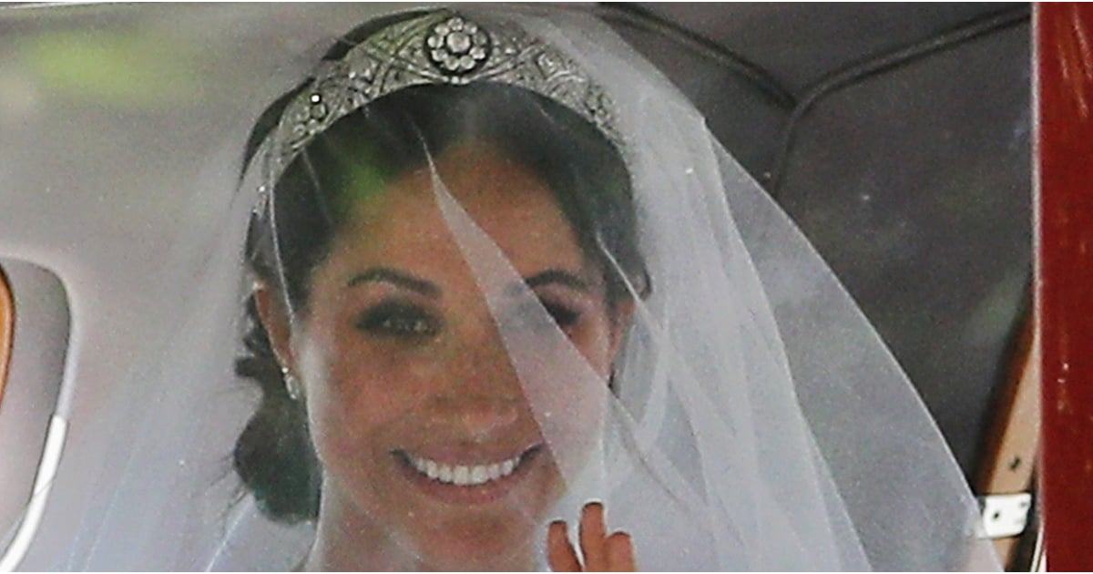 Meghan Markle Wedding Tiara Popsugar Fashion Australia