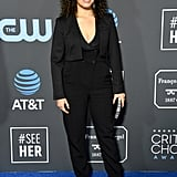 America Ferrera at the 2019 Critics' Choice Awards