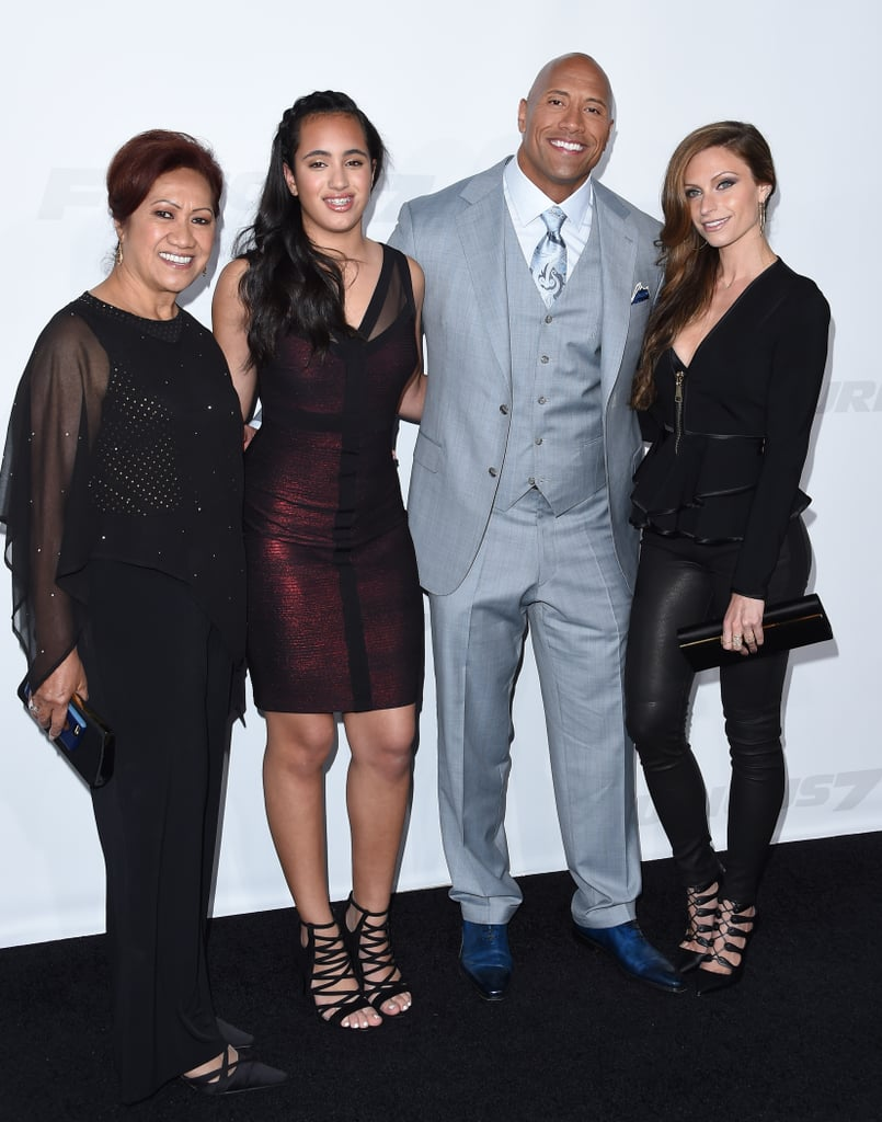 The Rock Familie