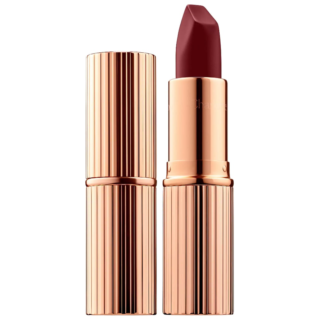 From now until Spring, consider this your new everyday shade. 3D-glow pigments are infused into this berry rose lipstick ($34) to make lips look wider and fuller. The gorgeous color is infused with the perfect autumnal balance of red and rust to make a head-turning statement wherever you go.