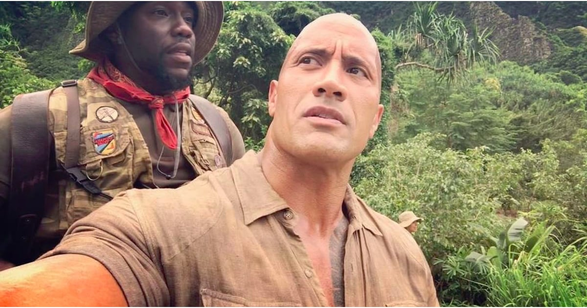 Dwayne Johnson and Kevin Hart Jumanji Video Oct. 2016