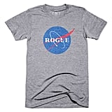 "Rogue NASA T-Shirt ($32) ""All of Rogue NASA's proceeds from this sale will be split between Girls Who Code and the National Math + Science Initiative."""