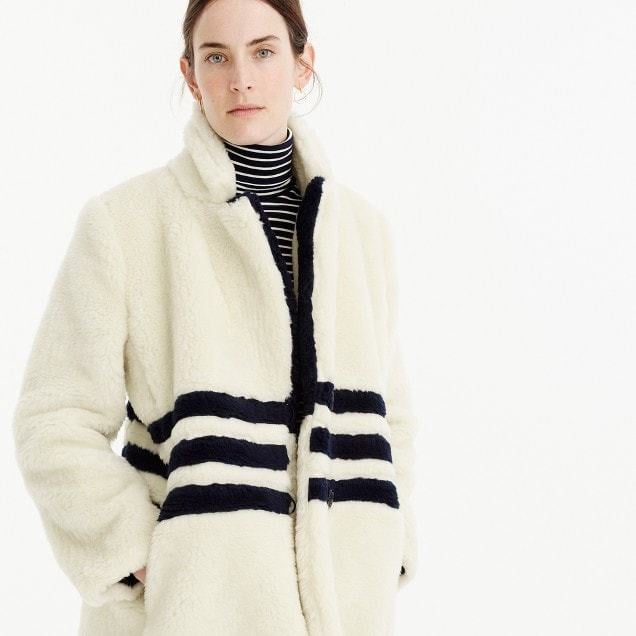 J.Crew The Teddy Coat