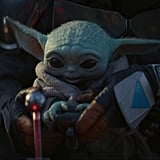 Baby Yoda in The Mandalorian Chapter 4