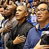 Barack Obama Rag & Bone Black Bomber Jacket