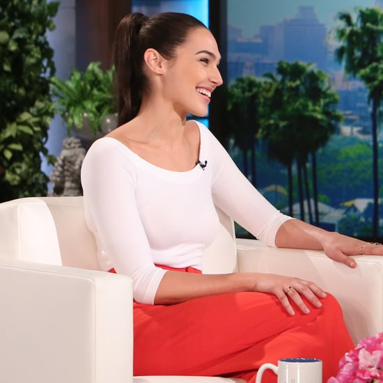 Gal Gadot on The Ellen DeGeneres Show March 2016
