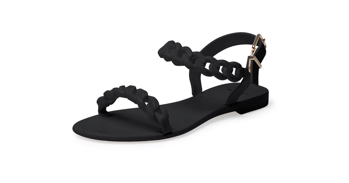 7fa50f55641d62 Givenchy Jelly Chain-Link Flat Sandals