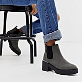 New Look Metal Detail Chunky Heeled Boots