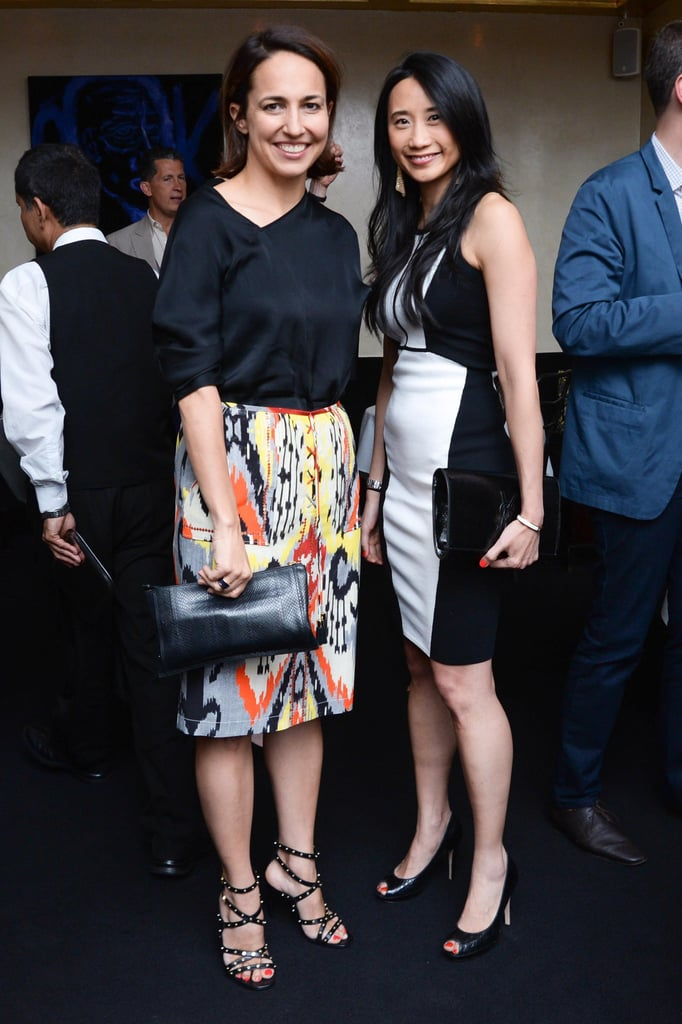 Marie Claire editor in chief Anne Fulenwider and Michelle Lee at a party Narciso Rodriguez and Woolmark threw to celebrate their Fall 2013 ad campaign in New York. Source: Joe Schildhorn/BFAnyc.com