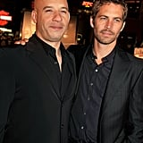 Pictured: Vin Diesel and Paul Walker