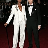 Iman and David Bowie — 2007
