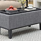 Convenience Concepts Brentwood Ottoman