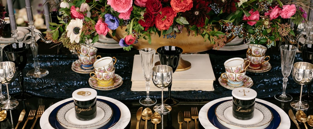 This Tablescape Is Straight Out of Your Beauty and the Beast Fantasy
