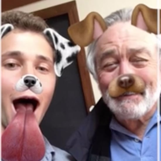 Robert De Niro Snapchat Video April 2017