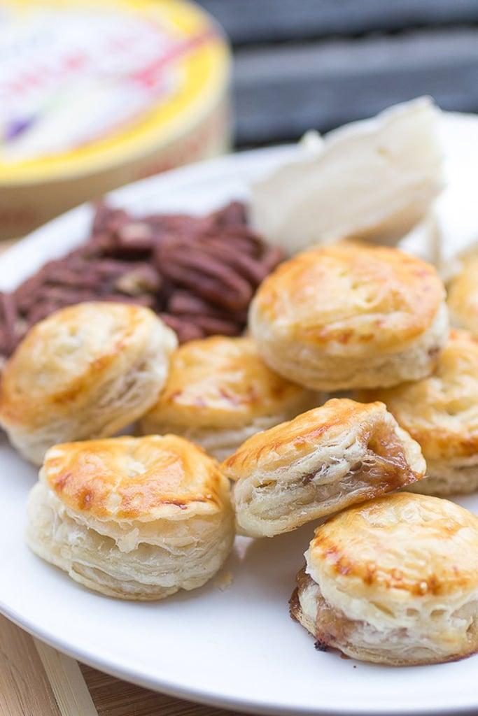 Praline Pecan and Brie Puff Pastry Bites | Recipes Using ...