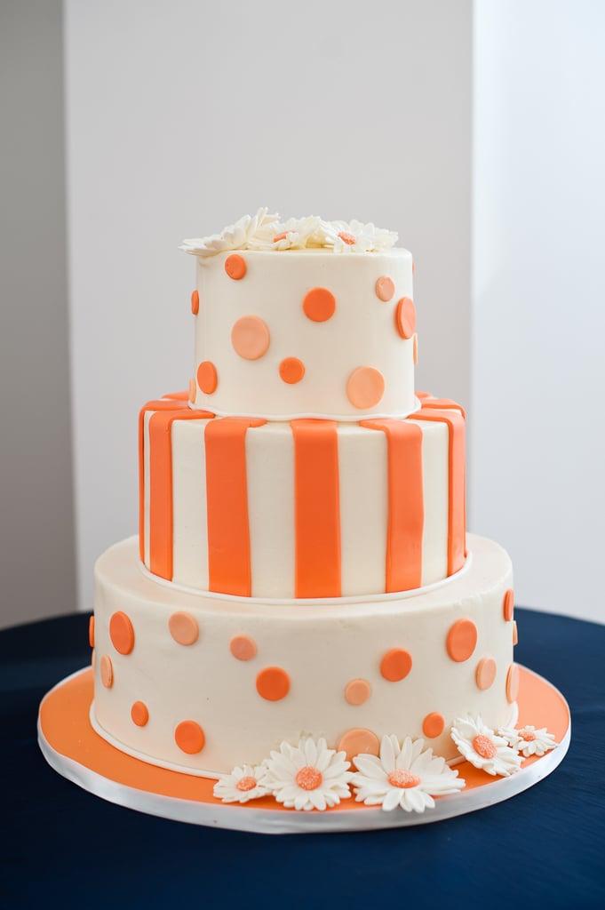 Playfully Patterned Cake