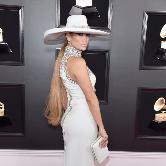 Jennifer Lopez Hair at the Grammys 2019