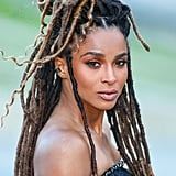 Ciara's Long Faux Locs (Ombré Mix of Colosrs 1B, 4, and 8)