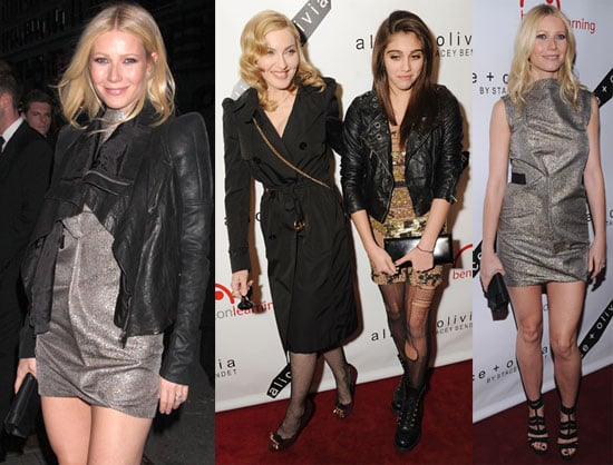 Pictures of Gwyneth Paltrow And Madonna at The Bent on Learning Benefit